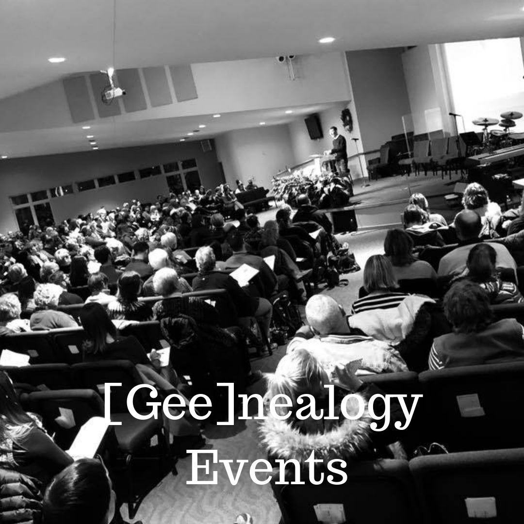 [Gee]nealogy Events